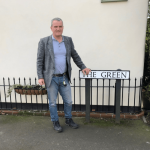 Bruce out in Farnsfield